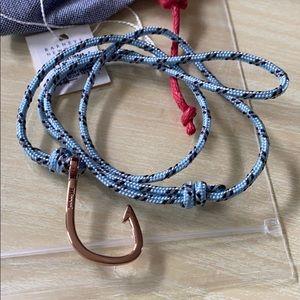Miansai Rose Hook Sky Blue Bracelet Unisex